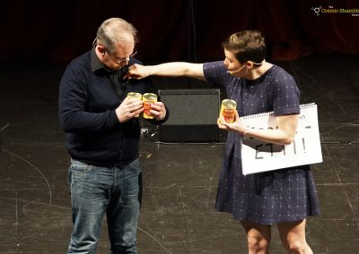 Robin Ince and Josie Long