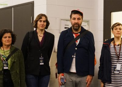 Dr Annalisa Durdle, Dr Katie Mack, David O'Doherty & Josie Long