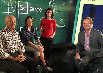 Dr Karl, Helen Czerski, Lucie Green & Andrew Geoghegan