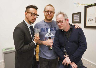 James Nokise, Matt Stellingwerf & Robin Ince