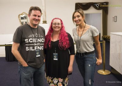 Prof Shaun Hendy, Dr Siouxsie Wiles & Dr Michelle Dickinson