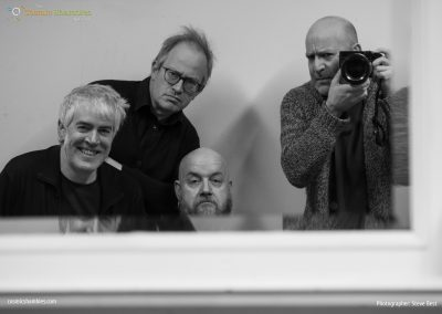 Phil Jeays, Robin Ince, George Egg and Steve Best