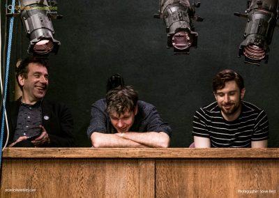 Jon Butterworth, Simon Watt and Andrew Steele