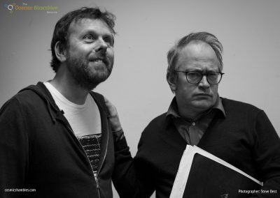 Michael Legge and Robin Ince
