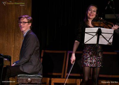 Will Bartlett and Dunja Lavrova