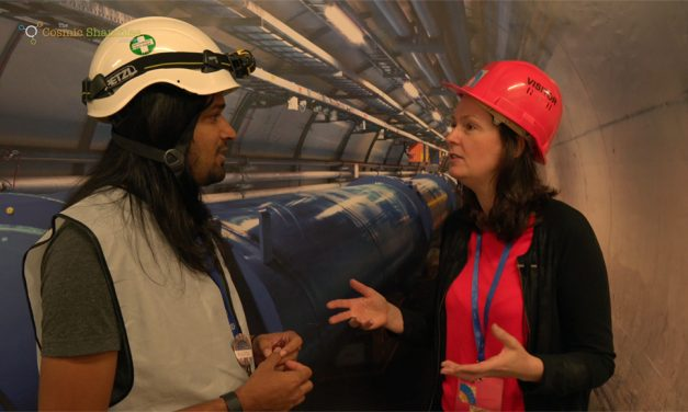 New Physics at CERN – with Prof Lucie Green