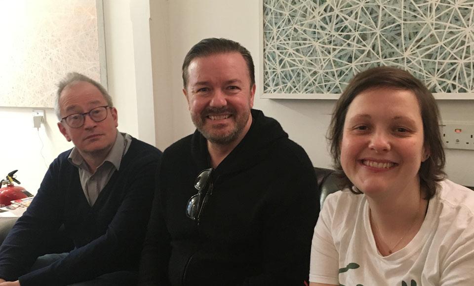 Ricky Gervais – Book Shambles