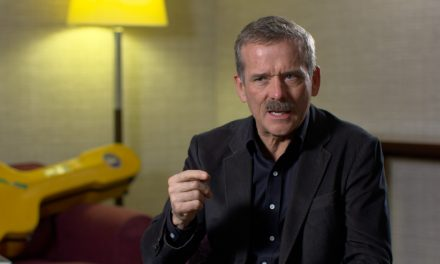 Chris Hadfield chats Space Shambles