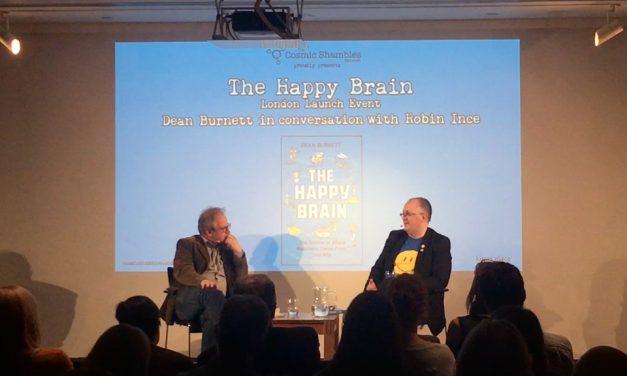 The Happy Brain Launch with Dean Burnett – Book Shambles
