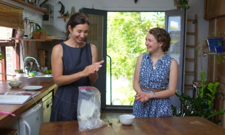 Instant Ice Cream with Dr Michelle Dickinson and Ginny Smith