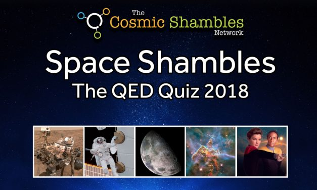 Space Shambles: The QED Quiz 2018