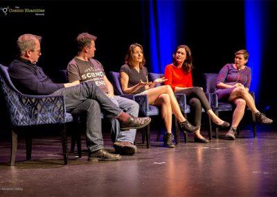 Robin ince, Shaun Hendy, Helen Czerski, Lucie Green & Josie Long