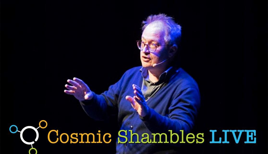 Cosmic Shambles LIVE at New Scientist Live