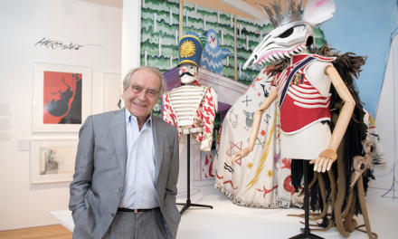 Stage and Screen: Gerald Scarfe Exhibition at the House of Illustration
