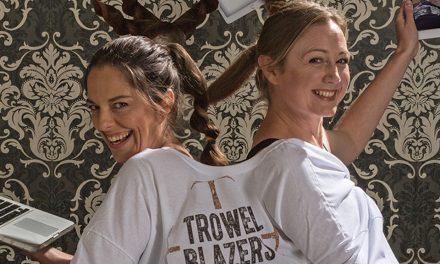 The Trowelblazers – Cosmic Superheroes