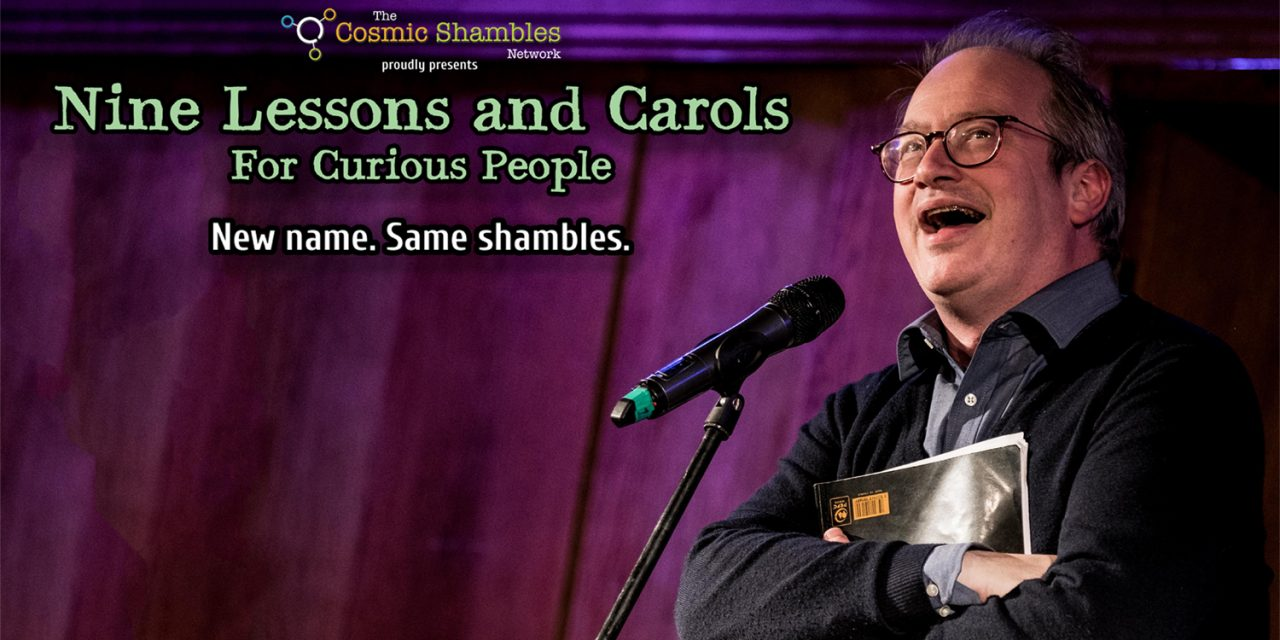 Nine Lessons and Carols for Curious People Pre Event 18