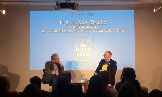The Happy Brain Launch with Dean Burnett – Book Shambles