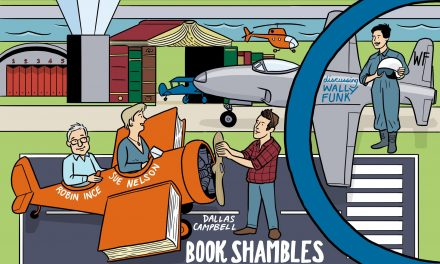 Sue Nelson & Dallas Campbell – Book Shambles Live