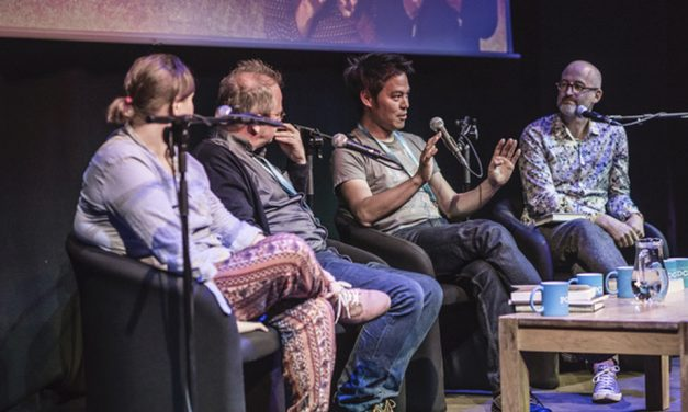 Mark Miodownik and Kevin Fong – Book Shambles at the London Podcast Festival