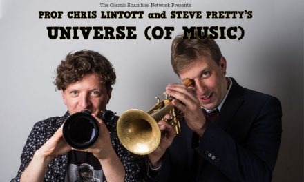 Prof Chris Lintott & Steve Pretty's Universe (of Music)