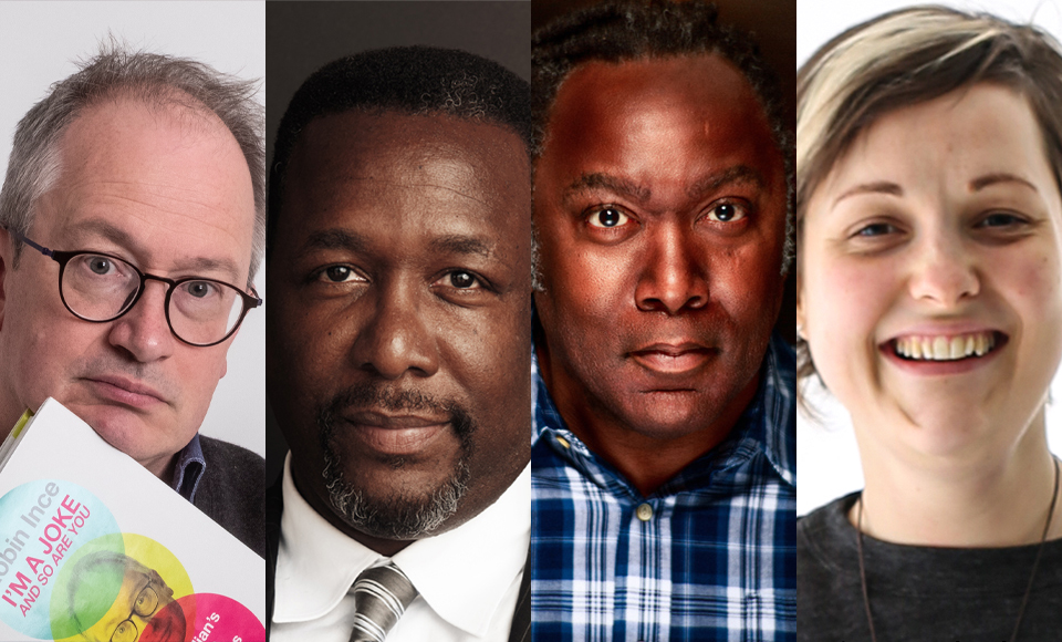 Wendell Pierce and Reginald D Hunter join Book Shambles Live