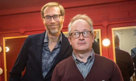 Stephen Merchant and Tim Brooke-Taylor – Slapstick Shambles