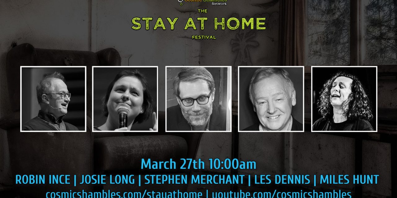 Stephen Merchant, Les Dennis & Mile Hunt – The Stay at Home Morning Show March 27th