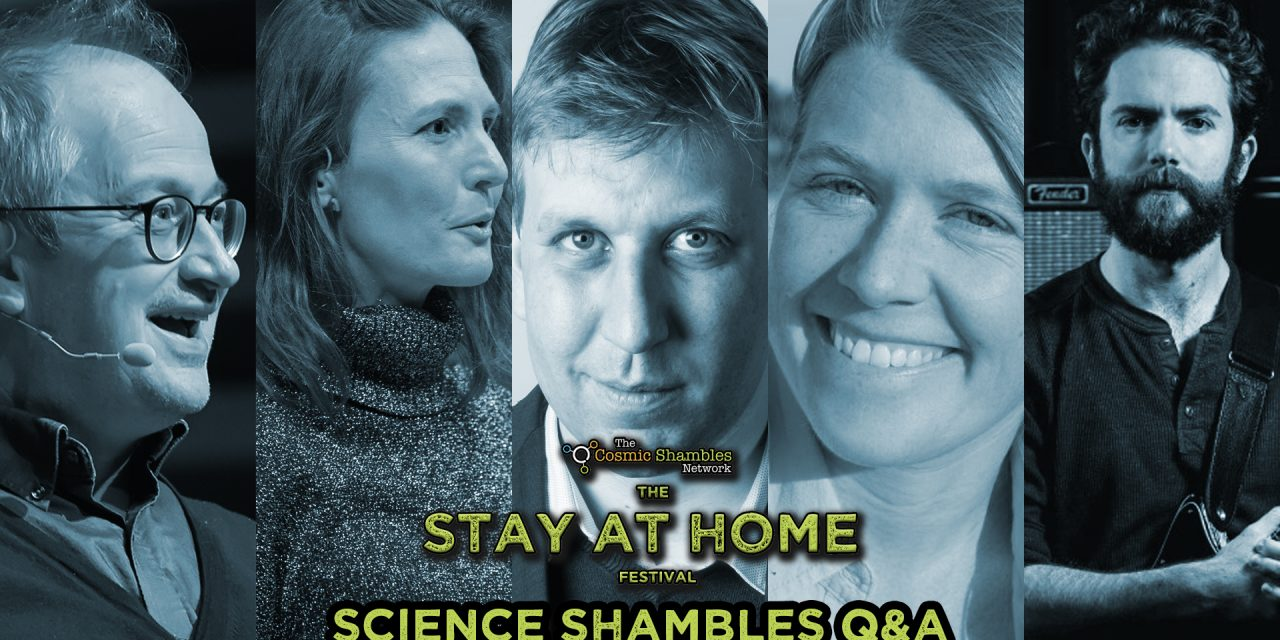 Chris Lintott, Sarah Parcak and Helen Czerski – Science Shambles QnA