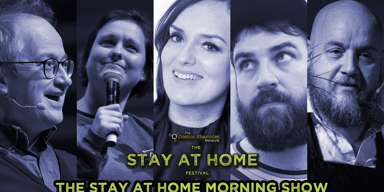 Deborah Frances-White, Pictish Trail and Pope Lonergan – Stay at Home Festival