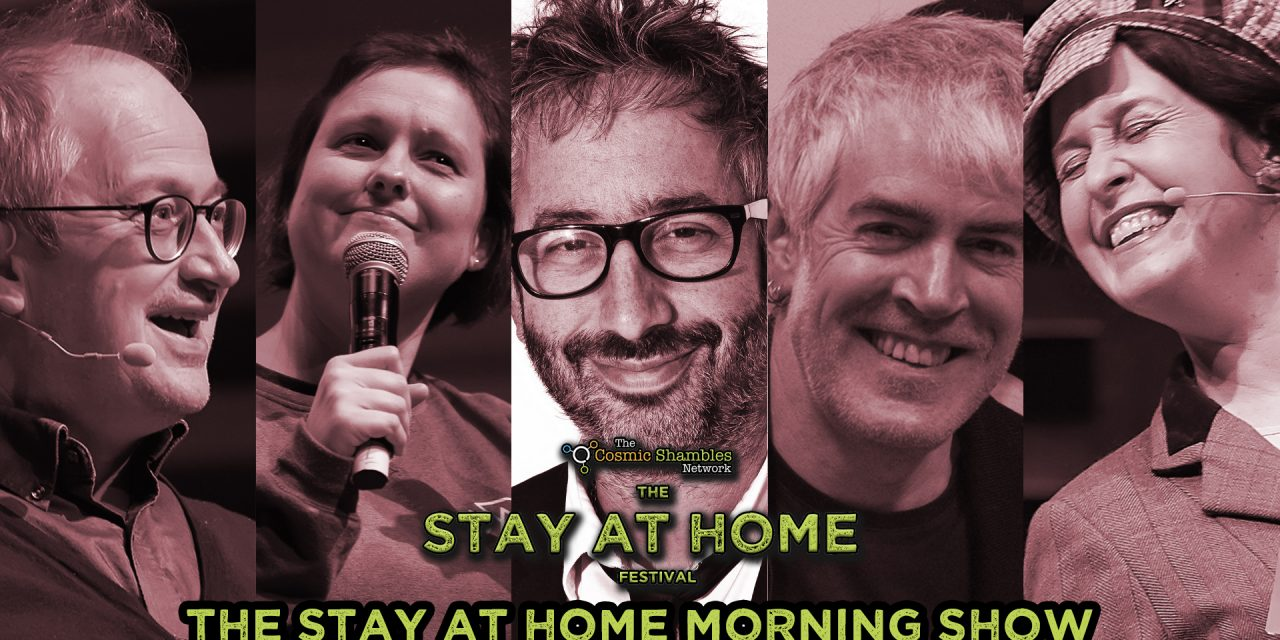 David Baddiel, Joanna Neary and Phil Jeays – Stay at Home Festival