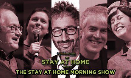 David Baddiel, Joanna Neary and Phil Jeays – Stay at Home Festival