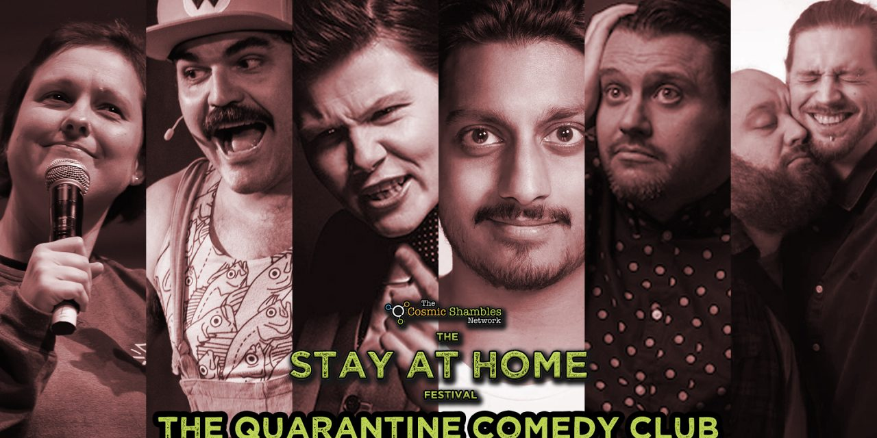 Ahir Shah, Grace Petrie, Nathaniel Metcalfe  – Quarantine Comedy Club April 24th