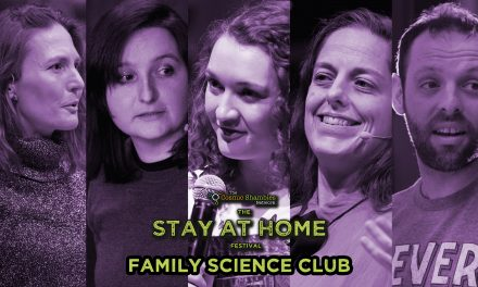 Helen Czerski's Family Science Club April 18th- Stay at Home Festival