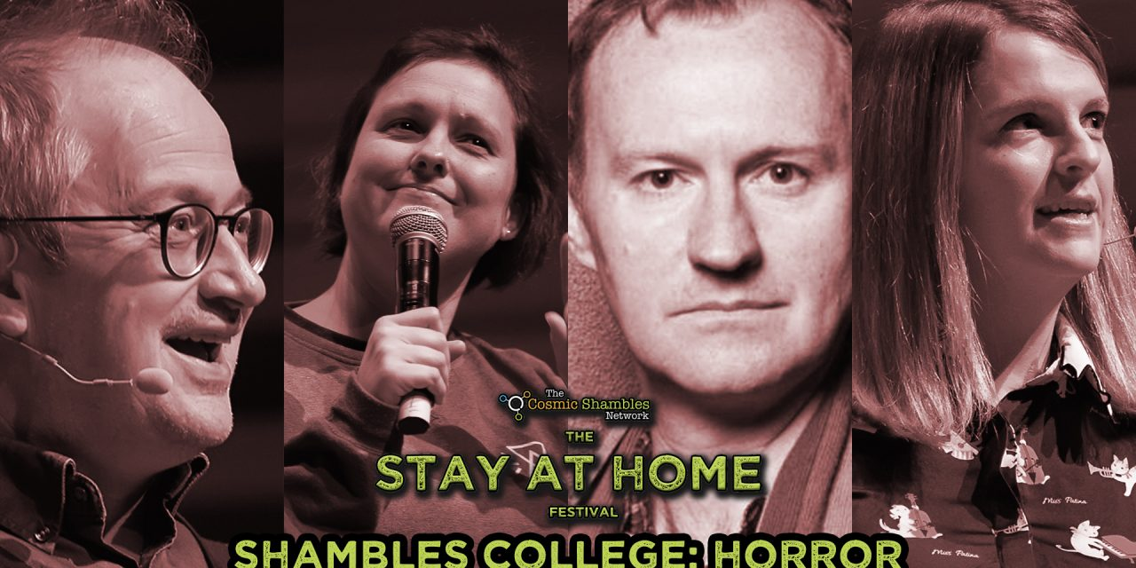 Mark Gatiss and  Suzie Gage- Shambles College April 27th