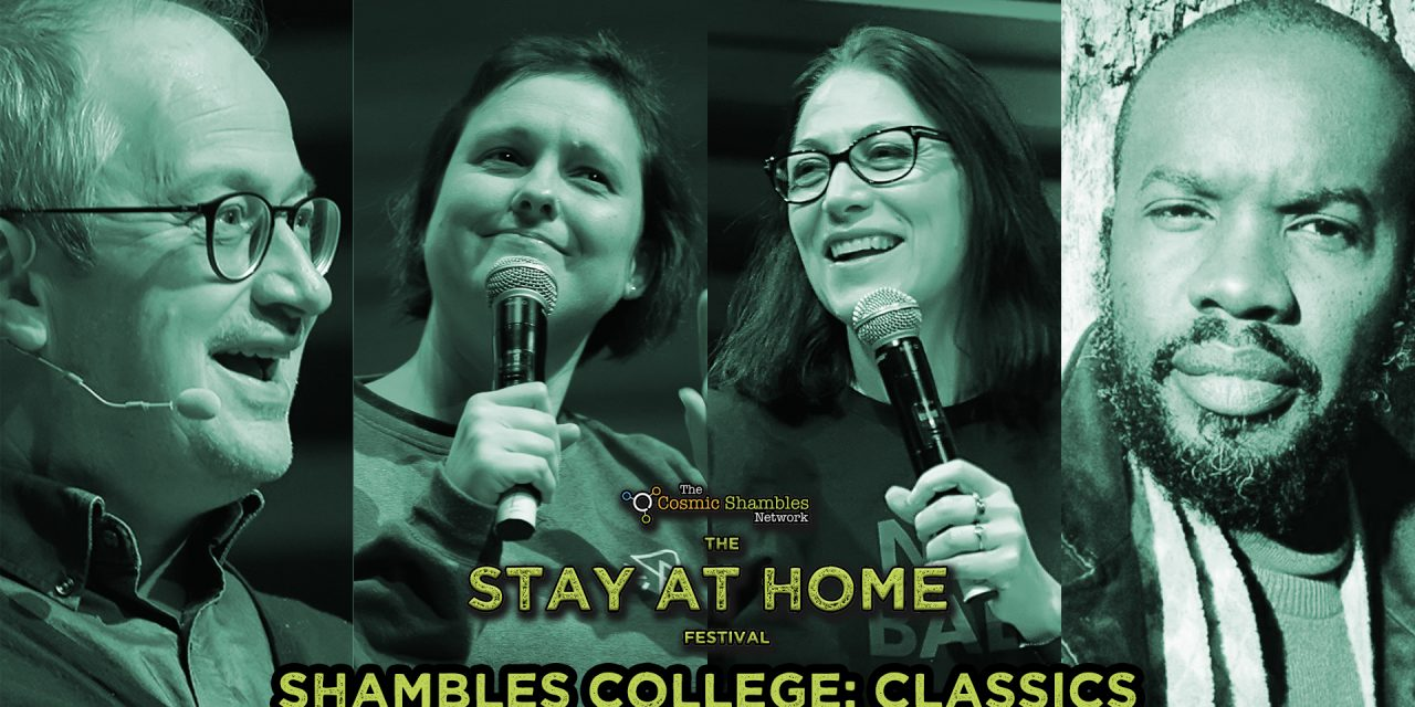 Natalie Haynes and David McAlmont- Shambles College