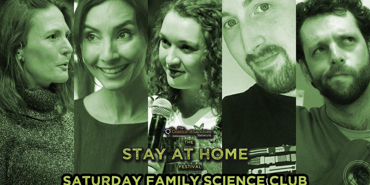 Helen Czerski's Family Science Club – April 4th