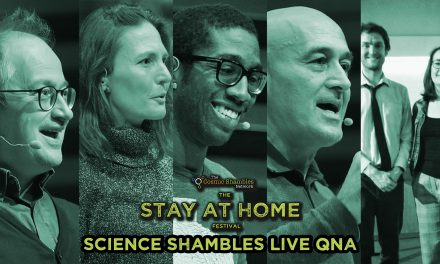 Jim Al-Khalili, Helen Czerski, Chris Jackson, Robin Ince & Geologise Theatre – Science Shambles Live