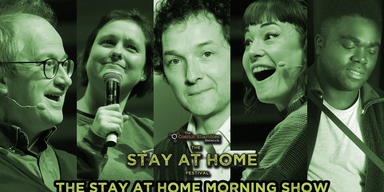 Chris Addison, Bec Hill and Femi – Stay at Home Festival