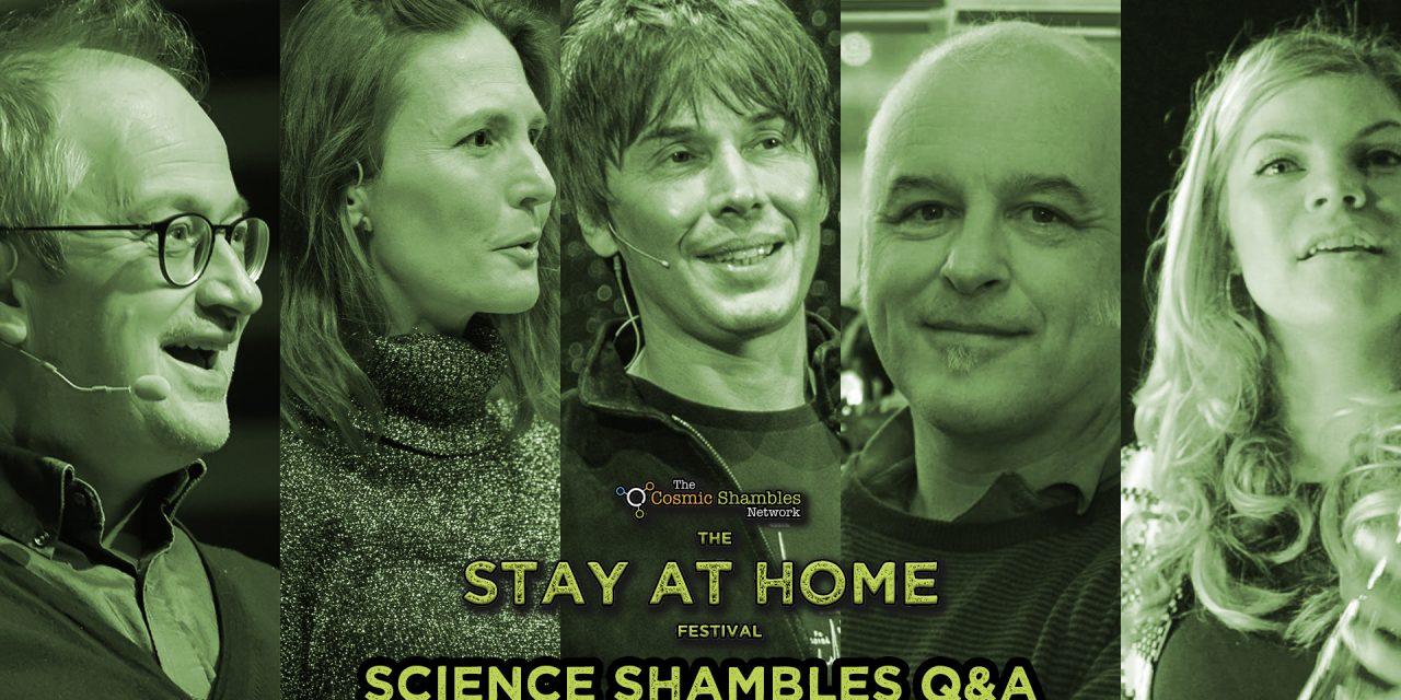 Brian Cox, Matthew Cobb and 1201_Alarm – Science Shambles April 26th