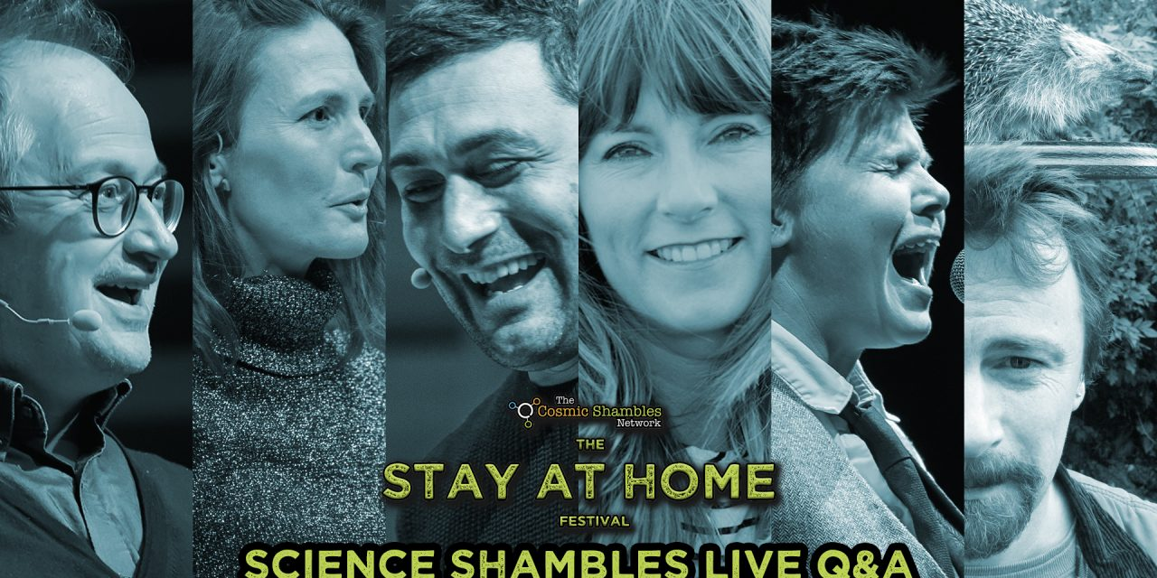Adam Rutherford, Lucy Cooke, Hugh Warwick and Grace Petrie – Science Shambles April 26th