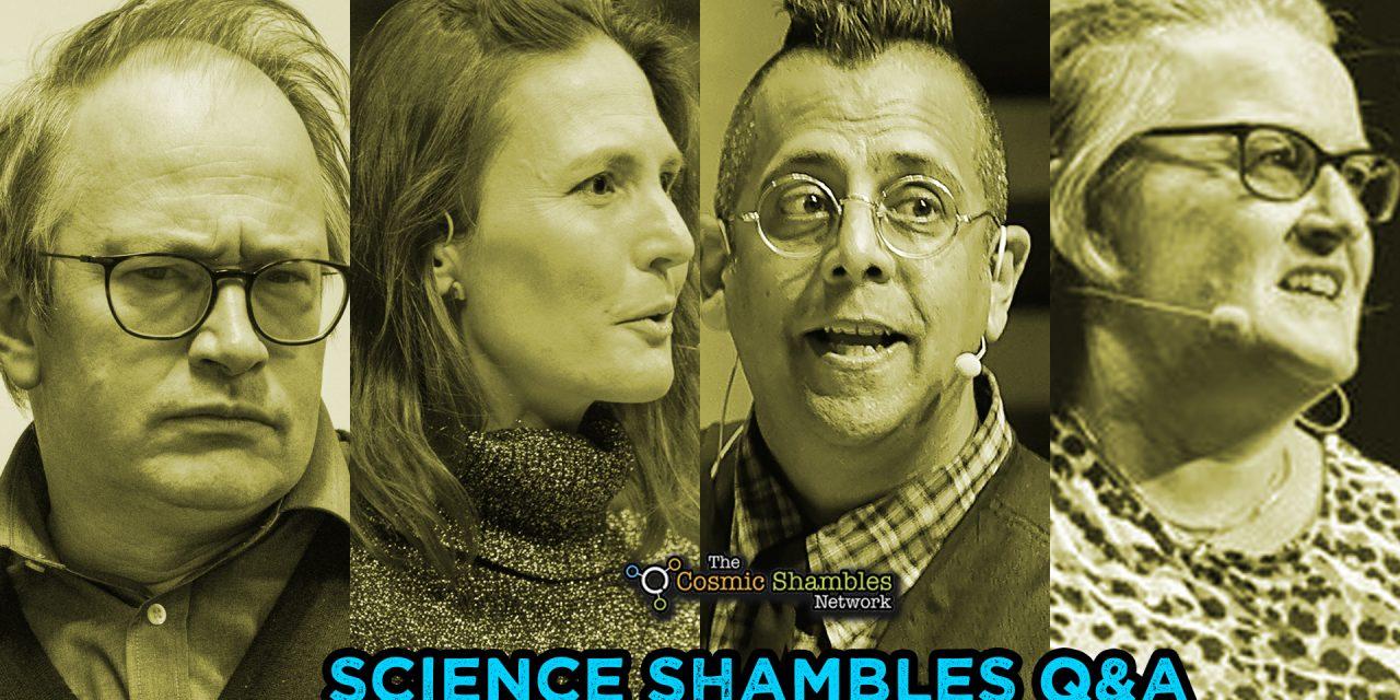 Simon Singh and Monica Grady – Science Shambles Q&A