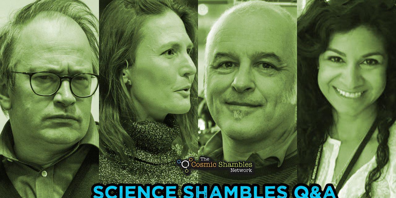 Matthew Cobb and Anjali Goswami – Science Shambles June 28th