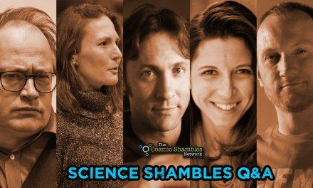 David Eagleman, Heather Berlin and Baba Brinkman – Science Shambles Q&A- May 31st