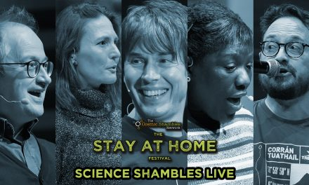 Brian Cox, Miranda Lowe and Matt Watson – Science Shambles LIVE – March 29th