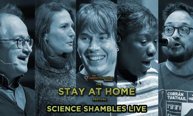 Brian Cox, Miranda Lowe and Matt Watson – Science Shambles LIVE – March 29th