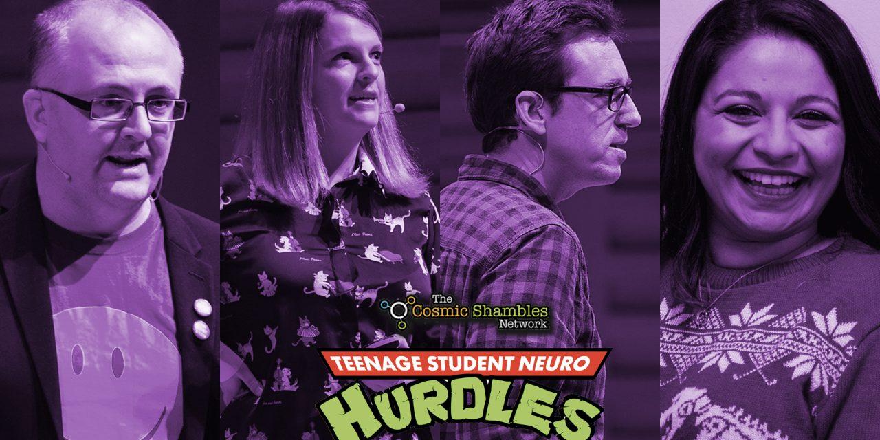 Teenage Student Neuro Hurdles