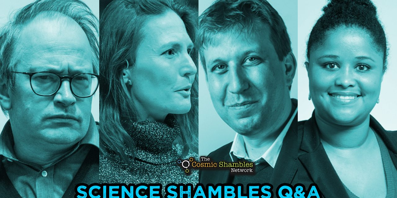 Chris Lintott and Tana Joseph – Science Shambles July 19th