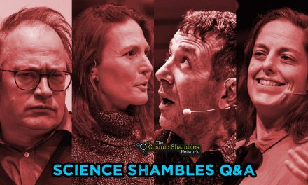 Jon Butterworth and Brenna Hassett – Science Shambles August 9th