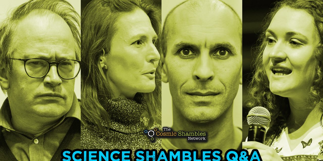 Anil Seth and Ginny Smith- Science Shambles August 2nd