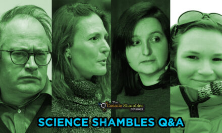 Katie Steckles and Sammie Buzzard – Science Shambles August 30th